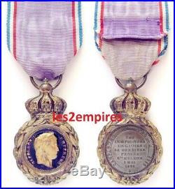 Médaille ordre militaire de Sainte Hélène 1857 Empereur Napoléon Premier Empire