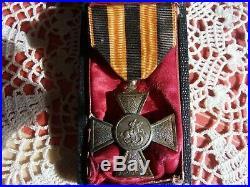 Médaille originale CROIX DE SAINT-GEORGES fabrication française