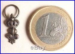 Médaille réduction en argent massif 19e s décoration Ordre royal du Lys