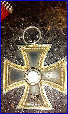 Medaille ww2 germanique 1939 magnétique au centre rudolff wachler L/100 non mar