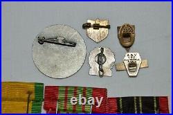 Medailles Du Maquis De Vaudeville (vosges)-maquisard-resistance-ffi-deportation