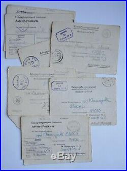 Medailles Polonaises Virtuti Militari Diplomes Anders Varsovie 1944 SANDBOSTEL