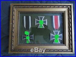 Medailles croix de fer allemandes, authentiques