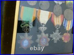 Médailles d'un ancien Marsouin
