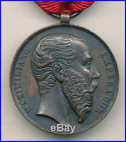 Mexique Médaille du mérite militaire 1863