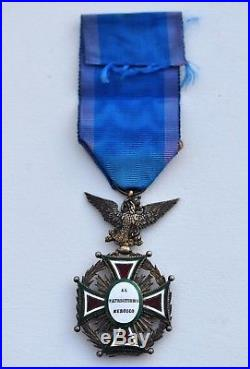 Mexique Ordre de Notre Dame de la Guadalupe, chevalier a titre militaire