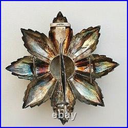Monaco Ordre de Saint Charles, plaque de Grand Croix, en argent et vermeil