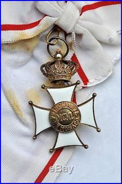 Monaco Ordre des Grimaldis, ensemble de grand croix