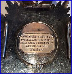 Napoleon. Plaque Legion D'honneur Second Empire