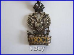 Napoleon. Decoration De L Ordre De La Couronne De Fer