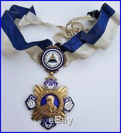 Nicaragua Ordre de Ruben Dario, commandeur en vermeil
