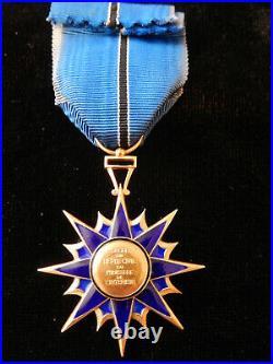 O6S Belle médaille ordre du mérite civil ministère de l'intérieur french MEDAL