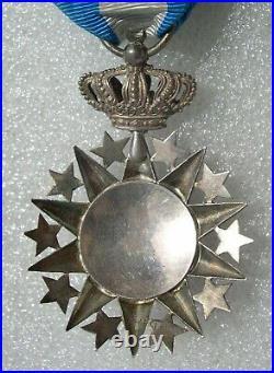 OFFICIER ORDRE DU NICHAN EL ANOUAR medaille en argent
