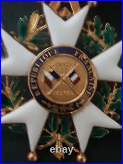 OFFICIER de la légion d'honneur époque 2 ème République en OR