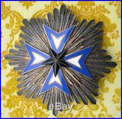 ORDRE DE L'ETOILE NOIRE DU BENIN PLAQUE de GRAND CROIX medaille