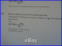ORDRE DU LYS. +RARE VETERAN 1er EMPIRE+CRIMEE+St HELENE