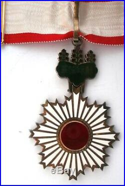 ORDRE DU SOLEIL LEVANT COMMANDEUR Order Médaille medal JAPON Japan Rising Sun