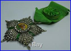 ORDRE du SOLEIL ET DU LION, Officier en argent, 64 mm