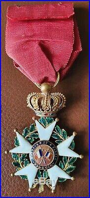 Officier Légion d'honneur Louis Philippe SUP
