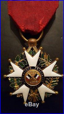Officier Legion honneur napoleon republique order medal