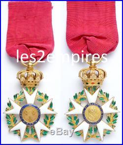 Officier Ordre Légion D'honneur 1815 Napoléon 1 Empire Louis XVIII Restauration