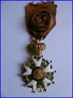 Officier Ordre de la Légion d'Honneur OR Type Monarchie de Juillet (1830-1848)