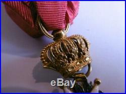 Officier Ordre de la Légion d'Honneur en OR Type Restauration (1815-1830)