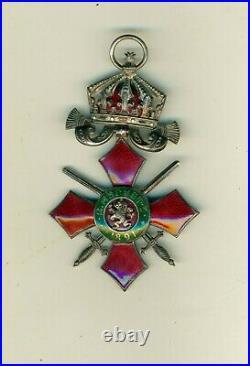 Officier de l'ordre mérite militaire de Bulgarie