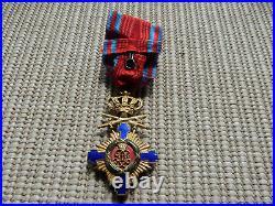 Officier ordre de l'étoile Roumanie Military officer order of the star Romania