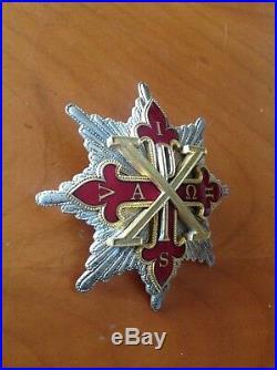 Ordre CONSTANTINIEN de Saint Georges plaque de grande croix