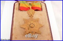Ordre De L Etoile D Ethiopie Commandeur En Coffret