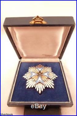 Ordre De L Etoile Noire Du Benin Plaque De Grand Croix