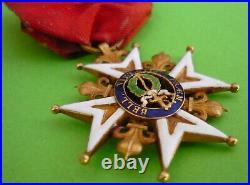 Ordre De Saint Louis-croix De Chevalier Restauration