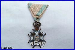 Ordre De Saint Sava Chevalier Serbie V Classe