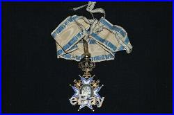 Ordre De Saint Sava (serbie) Croix De Commandeur-guerre 1914/18