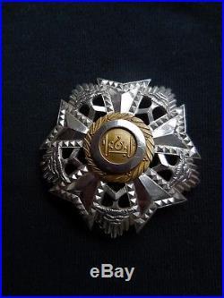 Ordre Du Liban Grand Croix De L'ordre Du Cédre Argent Vermeil