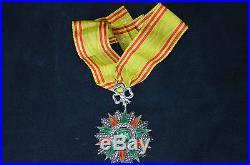 Ordre Du Nichan Iftikar (tunisie)-etoile De Commandeur-