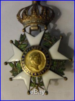 Ordre Imperial De La Legion Honneur Croix De Chevalier De Cuirasse 2°empire