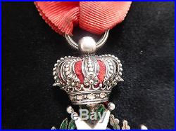 Ordre Légion Honneur chevalier Argent centres OR Restauration