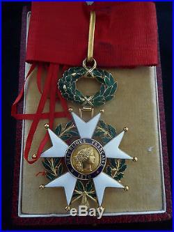 Ordre Légion d'Honneur 1870 Commandeur OR Bijoutier