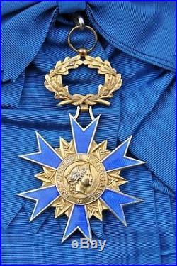Ordre National du Mérite, bijou de grand croix en vermeil et émail