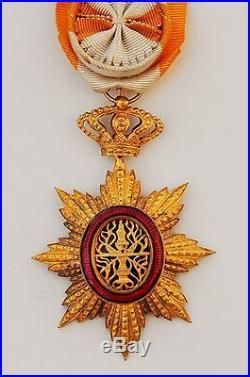 Ordre Royal du Cambodge, Officier en vermeil