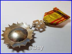 Ordre Tunisien NICHAN IFTIKHAR / Officier / 1837-1957 //ARGENT