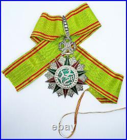 Ordre colonial de Nichan Iftikhar / Commandeur / ARGENT et OR / 012
