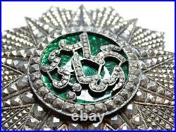 Ordre colonial de Nichan Iftikhar / Grand Croix / ARGENT / 002
