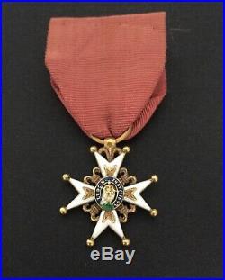 Ordre de Saint Louis bout des lys amputés sous La Monarchie de Juillet SUP
