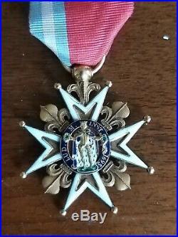 Ordre de Saint Louis en or
