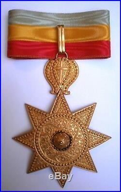 Ordre de l'Etoile ETHIOPIE Afrique Medaille order medal ETIOPIA Italia Ethiopia