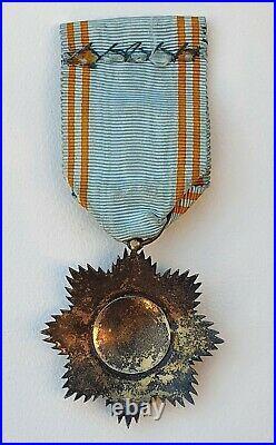 Ordre de l'Etoile d'Anjouan, officier en vermeil