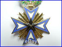 Ordre de l'etoile noire du Bénin / Commandeur / Vermeil A010